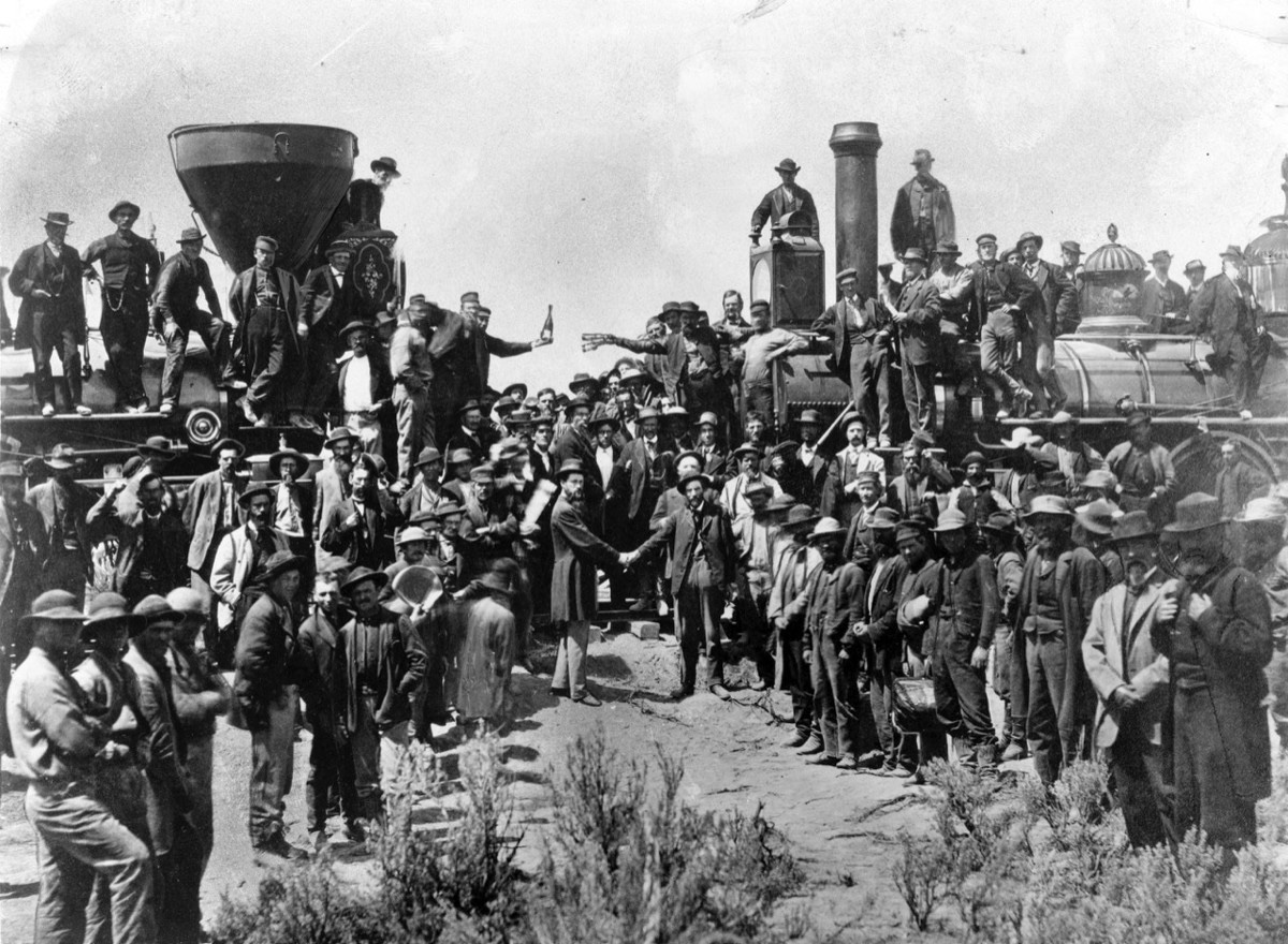 Purgatory on Wheels— the story of how the historic driving of the Golden Spike almost didnt hap…